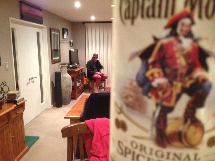Captain Morgan visits. Southern Blast