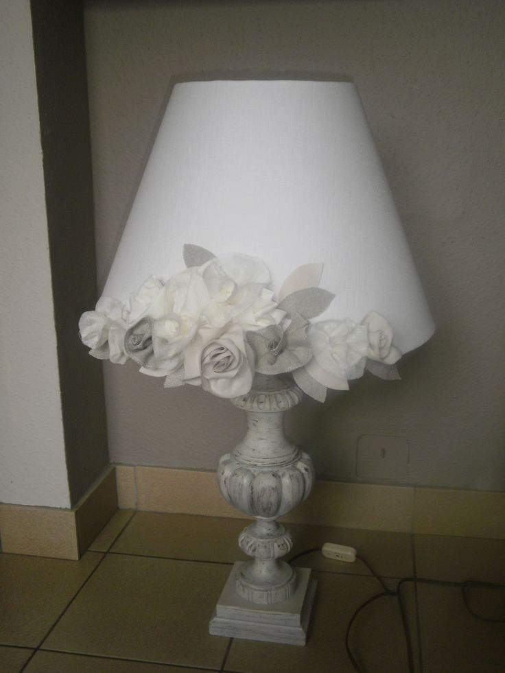 abat jour fleurs shabby lamps shades pinterest lampshades and shabby. Black Bedroom Furniture Sets. Home Design Ideas