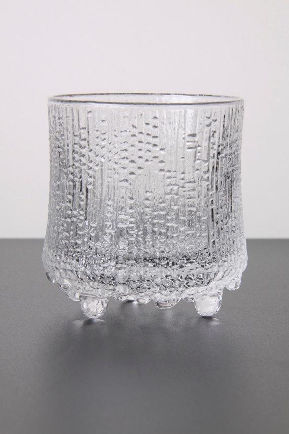 Vintage Iittala Glass Ultima Thule Tapio by afterglowretro on Etsy, £11.00