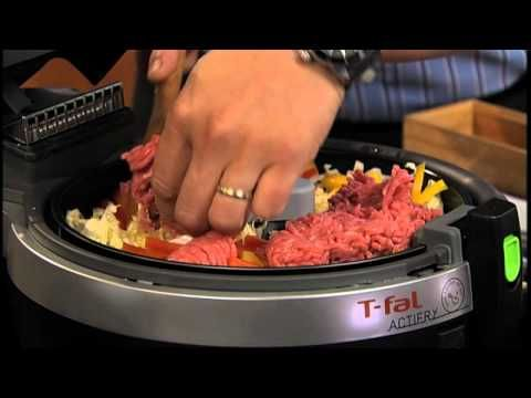 Chef Ming Tsai uses T-fal ActiFry to make the Thai dish called Larb
