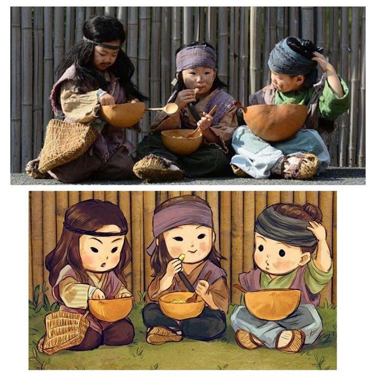 beggar triplets ☺