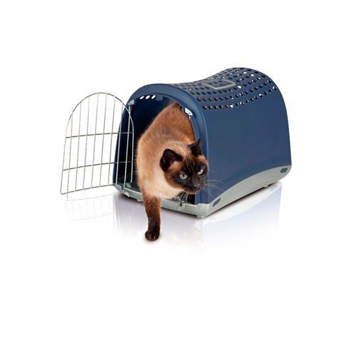 Cage de transport au design unique pour petits #chiens  et #chats (existe en 2 coloris) à 30€95 sur www.TiendAnimal.fr