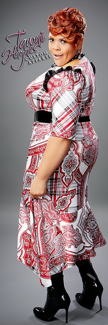 Tamela Mann in Tawni Haynes Pencil Dress by Tawni Haynes Custom Apparel, via Flickr