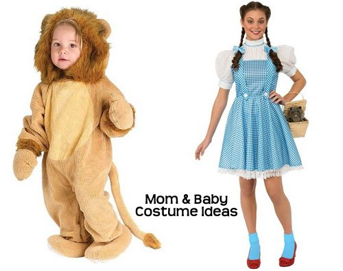 Ideas for Mom and Baby costumes