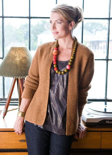 Avocet B cardigan - free pattern pdf, sizes xs-2x, garter stitch . have not dl'd yet