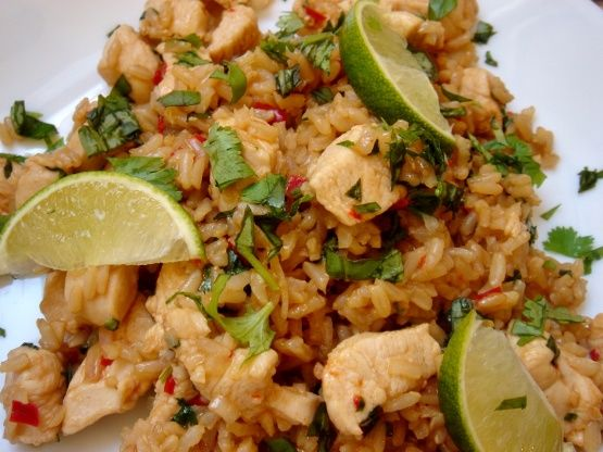 Make and share this Thai Chicken Fried Rice with Basil - Kao Pad Krapao recipe from Food.com.