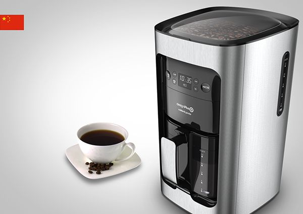 Drip Coffee Maker on Industrial Design Served
