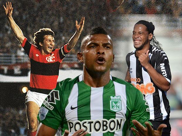 Palmeiras contará novamente com um 'Rey da América' no elenco; Flamengo lidera lista