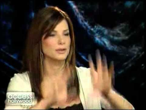 Sandra Bullock teach German - funny! - YouTube