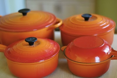 Le Creuset in flame