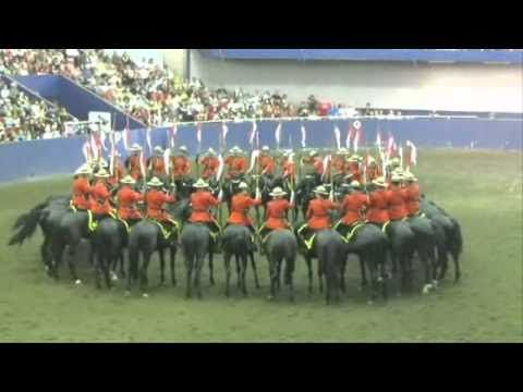 RCMP Musical Ride The Dome, Charge & Drills