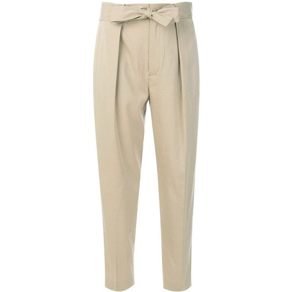 Polo Ralph Lauren straight pants (6 105 UAH) ❤ liked on Polyvore featuring pants, brown trousers, polo ralph lauren, straight pants, polo ralph lauren pants and brown pants