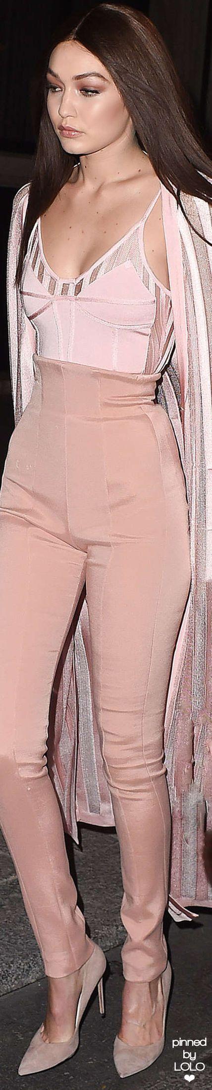 Gigi Hadid - blush.