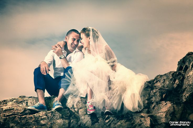 Happy bride and groom by Daniel Stanciu on 500px