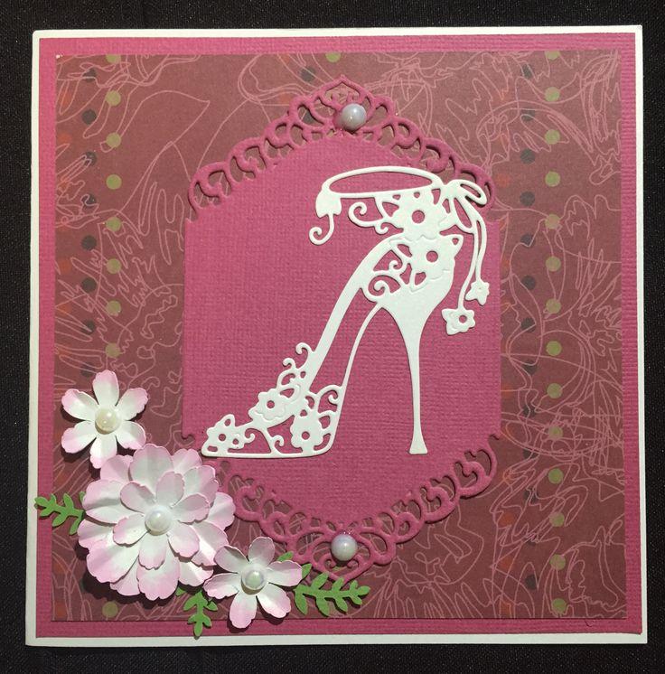 Tattered Lace Bella shoe die