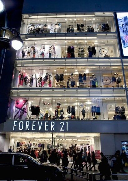 Miss thid shop in France, Forever 21