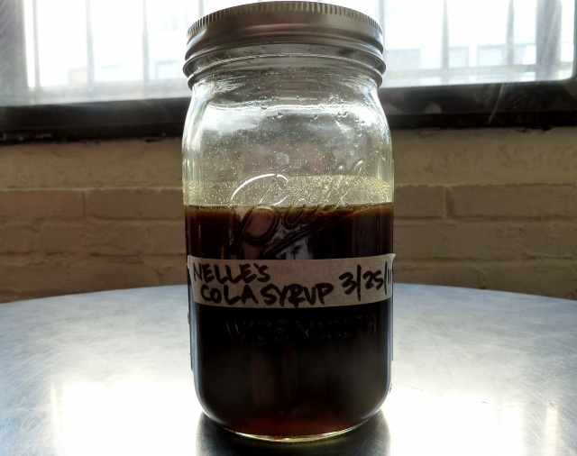 Home made cola syrup