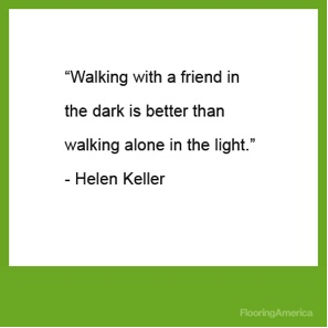 Hellen Keller #Friendship #Quote