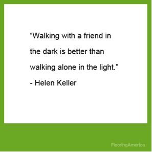 Hellen Keller #Friendship #Quote