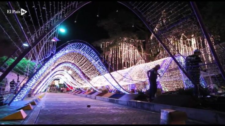 Christmas in Cali, Colombia (Not Columbia)