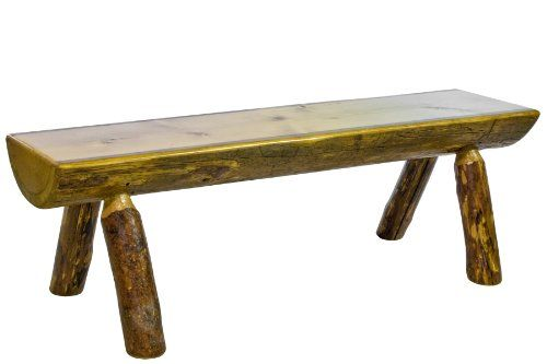 Montana Woodworks Glacier Country Collection Half Log Bench, 5-Feet Montana Woodworks,http://www.amazon.com/dp/B004RGR4DO/ref=cm_sw_r_pi_dp_-fpbtb0KQH900VN9