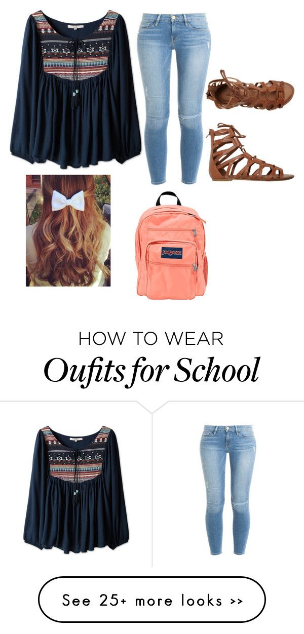 """school"" by fashionbaby017 on Polyvore"