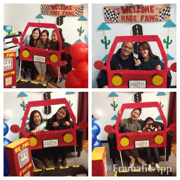 cars photo booth