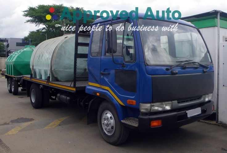 AA2209, Nissan, UD60  WITH 5000LT WATER TANK AND A SWIFT TRAILER ALSO WITH 5000LT WATER TANK, 1997  email us at: linda@approvedauto.co.za or call: +27 82 551 9371 visit us at:  www.approvedauto.co.za  6 kosi place umgeni business park