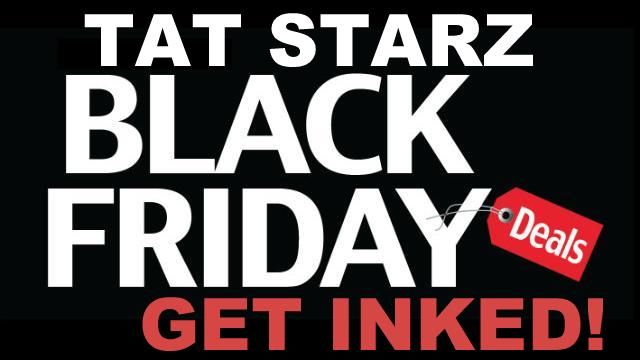 BLACK FRIDAY DEALS ON TATTOOS AND PIERCINGS!!  Come in tonight and get a Black Friday great deal on a tattoo or piercing. Our artists will work with your budget to give you the best possible price on a one of a kind, top quality, custom tattoo, or get an awesome piercing for a great deal.   Open late tonight until 2am for your  Convenience.  Walk ins welcome or call us for an appointment.  504-529-4613 - Get inked! 1418 N Claiborne Ave. - New Orleans Shop hours: 12pm - 2am