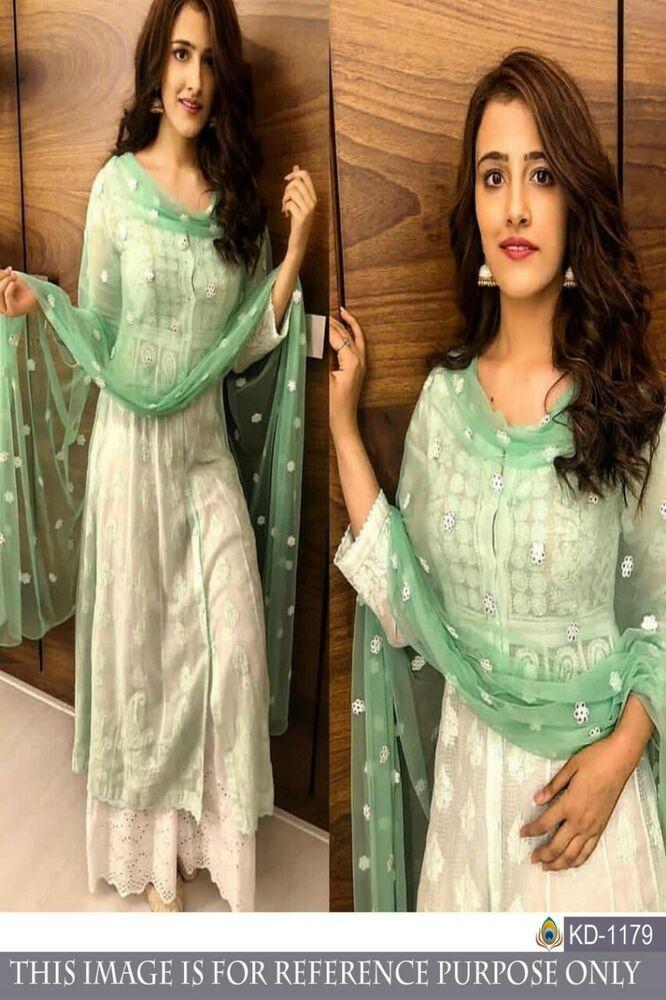 Details about  /PAKISTANI BOLLYWOOD DESIGNER PARTY SALWAR KAMEEZ SUIT INDIAN ANARKALI DRESS