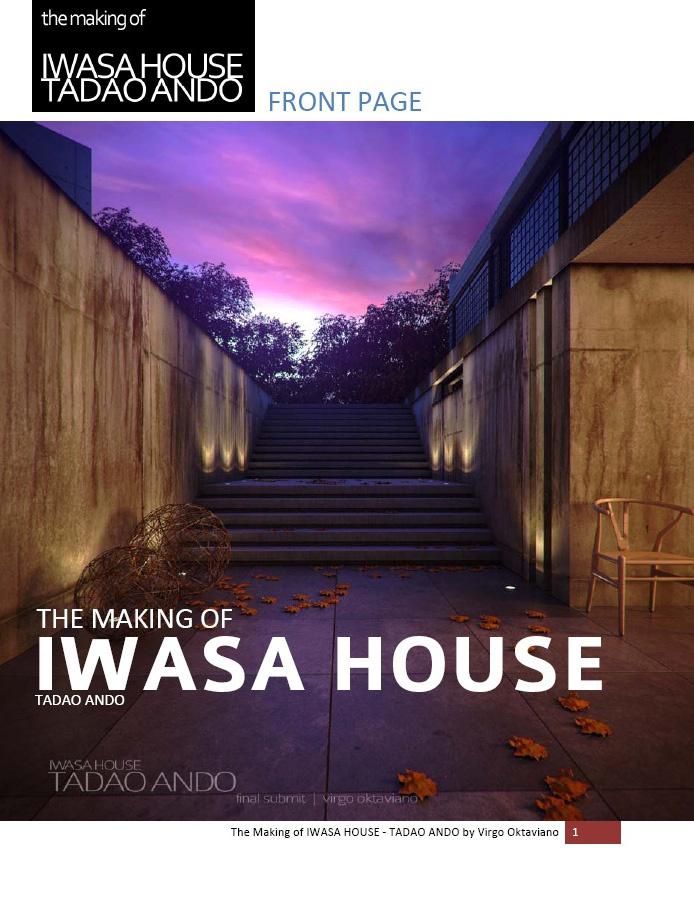 virgooktaviano: The Making Of IWASA HOUSE - TADAO ANDO