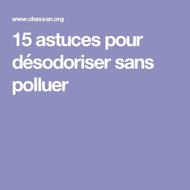 15 astuces pour désodoriser sans polluer