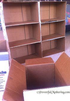 Best 25 Cardboard Box Storage Ideas On Pinterest