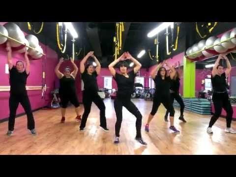 """Mark Ronson & Bruno Mars """"Uptown Funk"""" - Zumba Routine - Choreo by Mari - YouTube"""