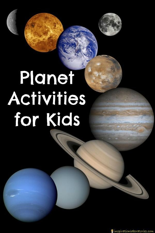 Preschoolers and the Solar System - Common Sense