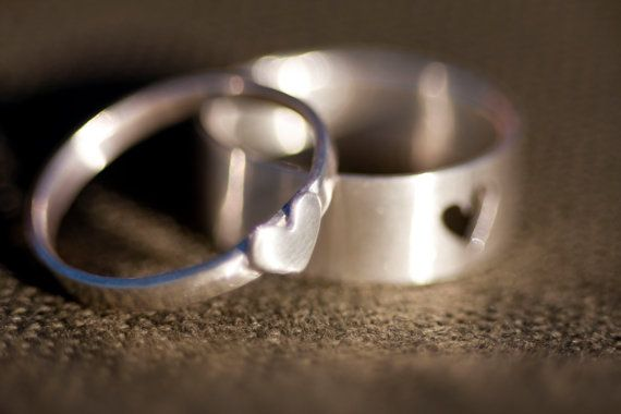 Tiny Heart Couple Rings, $100 | 24 Matching Jewelry Pieces For You And The One You Love