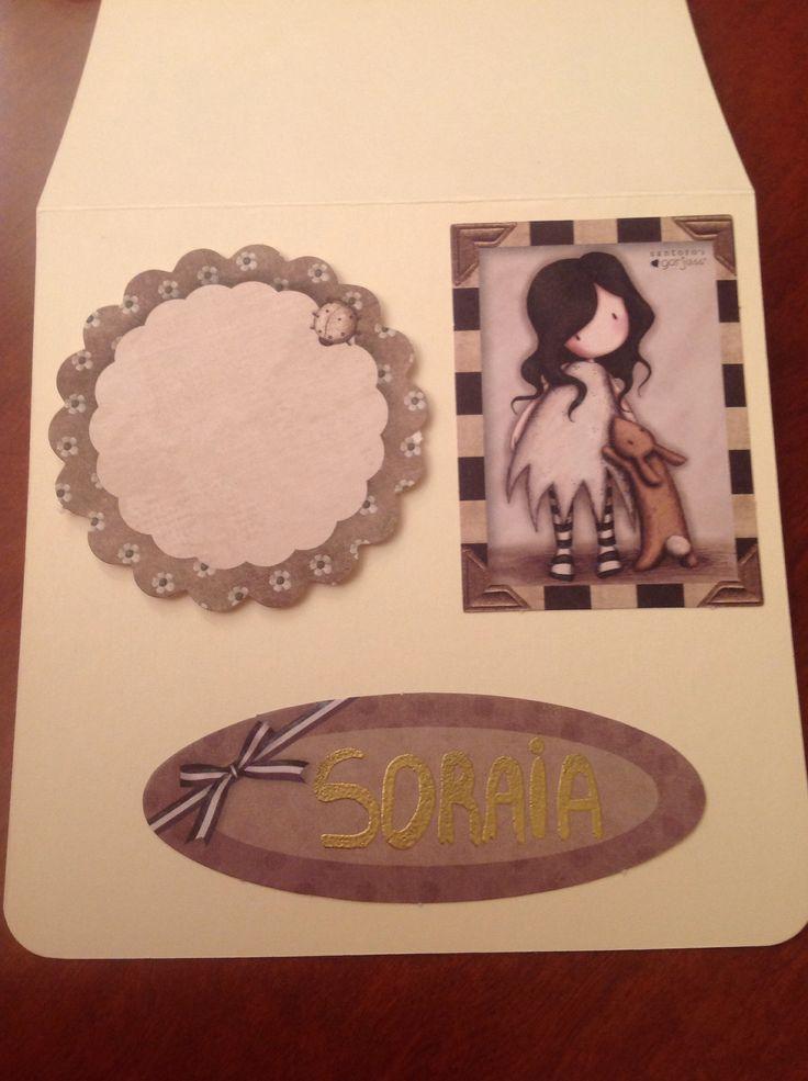 Card to my cousin Soraia