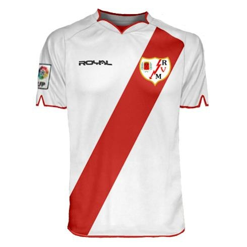 Rayo Vallecano football team shirt