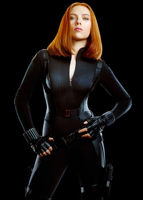 Scarlett Johansson as Black Widow   from lmnpnch @ Tumblr.com // #marvel; captain america: the winter soldier