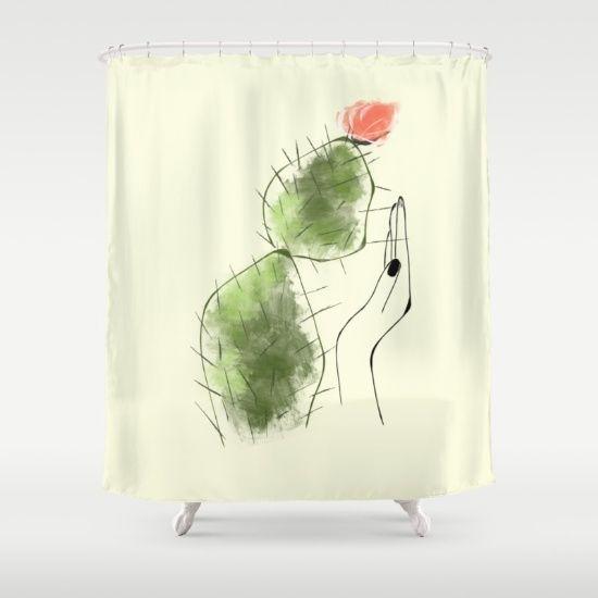 Tough Love Shower Curtain