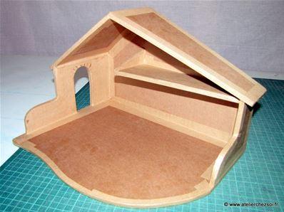 Les 7 meilleures images du tableau deco noel sur pinterest bricolage artisanat et cr ativit - Fabrication maison en carton ...