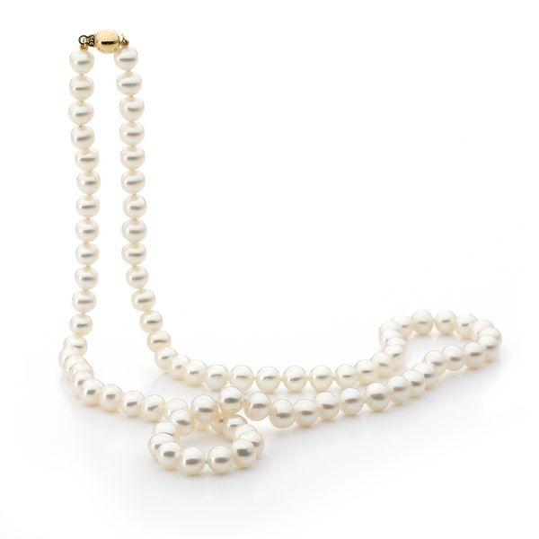 Coloured 7mm FW Pearl Necklace, 60cm – Leske's Jewellers - Shop our jewellery store in Port Fairy - Victoria, Australia.