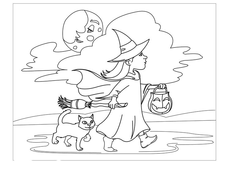 Witches Longer Walk With Her Cat