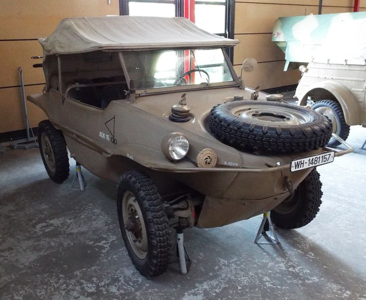 Volkswagen Typ 166 Schwimmwagen 1942 Panzer Museum Munster