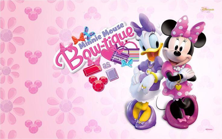 Minnie Boutique Free Printable Kit.
