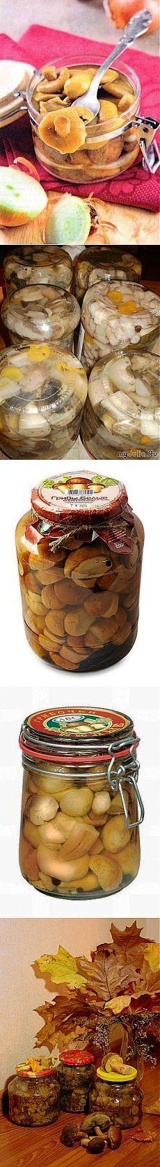Коллекция Рецептов Маринованные грибы: ТОР - 5 лучших рецептов