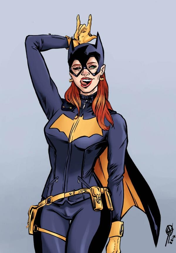 Batgirl of Burnside by Saeed A Arjumand