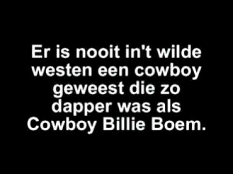 ▶ Cowboy Billie Boem - YouTube
