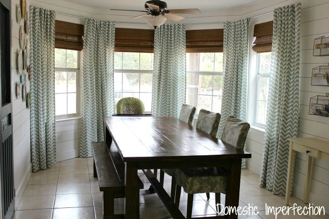 Genius way to hide your cleaning tools!  Let your curtains do double duty :) #organized