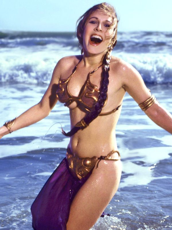 Princess leia gold bikini picture really. Willingly